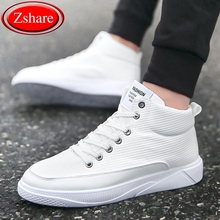 Mens leather Boots Fashion autumn winter Warm Cotton Brand ankle boots men 2019 New arrival high-top shoes man sneakers footwear mycolen new brand high quality spring autumn shoes men super warm leather boots fashion high top man ankle boots askeri bot