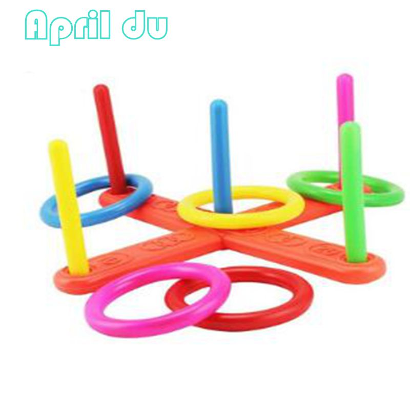 April Du New Children throwing ring game toy Kids sports toy