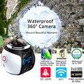 Действий Камеры WiFi 360 Камеры Панорама 4 К 16MP 3D Спорт DV DVR Водонепроницаемая Цифровая Видеокамера VR Video Cam Для iphone 6 s xiaomi Lg