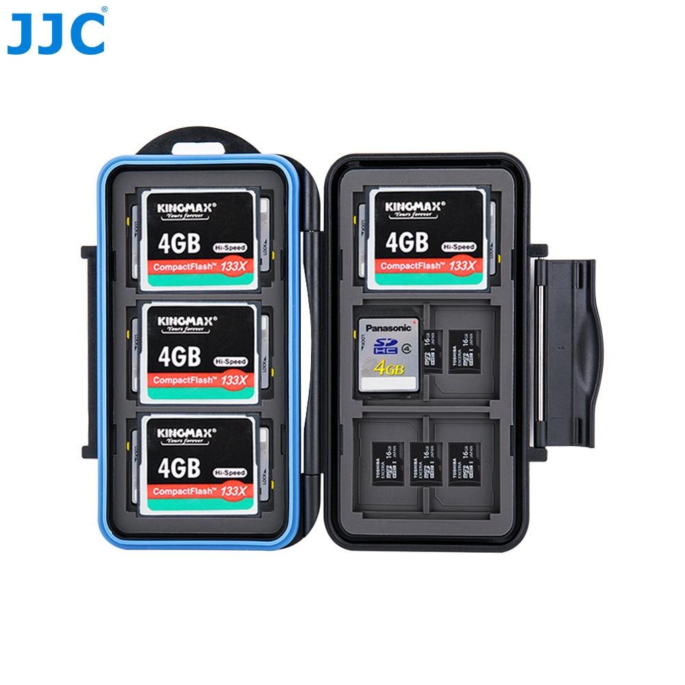 JJC карта памяти SDMSDдля cf карт корпус водостойкая коробка для CanonNikonsonyFujifilmOlympusLeica камеры купить на AliExpress