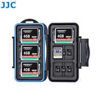 JJC boîtier de stockage de cartes mémoire SD/MSD/CF boîtier résistant à l'eau pour appareil photo Canon/Nikon/Sony/Fujifilm/Olympus/Leica