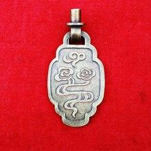 Китайский классический шкатулка, ящик потяните ручки Винтаж Латунь мебельная фурнитура двери шкафа ручки