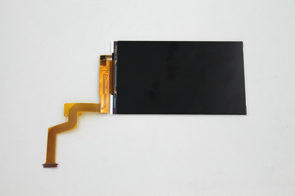 2 pcs/lot LCD d'origine pour nouveau 2DS XL LL écran supérieur Lcd écran de remplacement pour les nouvelles pièces de réparation 2dsll 2dsxl-in Écrans from Electronique    1