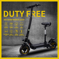 800W Electric Scooter 10inch Folding 48V Long Distance 85KM Re chargeable Patinete Electrico Adulto Electric Skateboard Citycoco