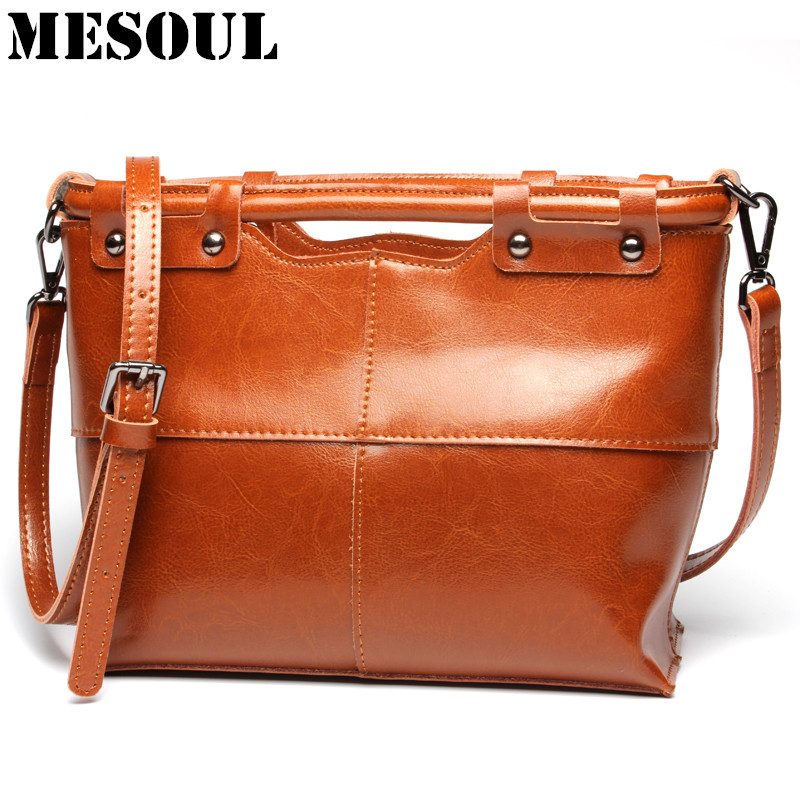 Designer Bag Real Leather Shoulder Bags for Women Fashion Small Bag Ladies Crossbody Tote High Quality Top-Handle Bags Bolsas 2017 fashion all match retro split leather women bag top grade small shoulder bags multilayer mini chain women messenger bags
