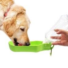 цена на Dog travel kettle pet water feeder Dog Drinking bottle pet portable Foldable Bottle for Animal