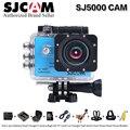 100% original serie sj5000 sjcam cámara de acción 1080 p hd lleno impermeabilizan la cámara del deporte del casco dv con más accesorios leva elegir