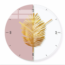 Wall clock Minimalist quartz watch simple Clocks Home Decoration Living Room Silent 12 inch W50