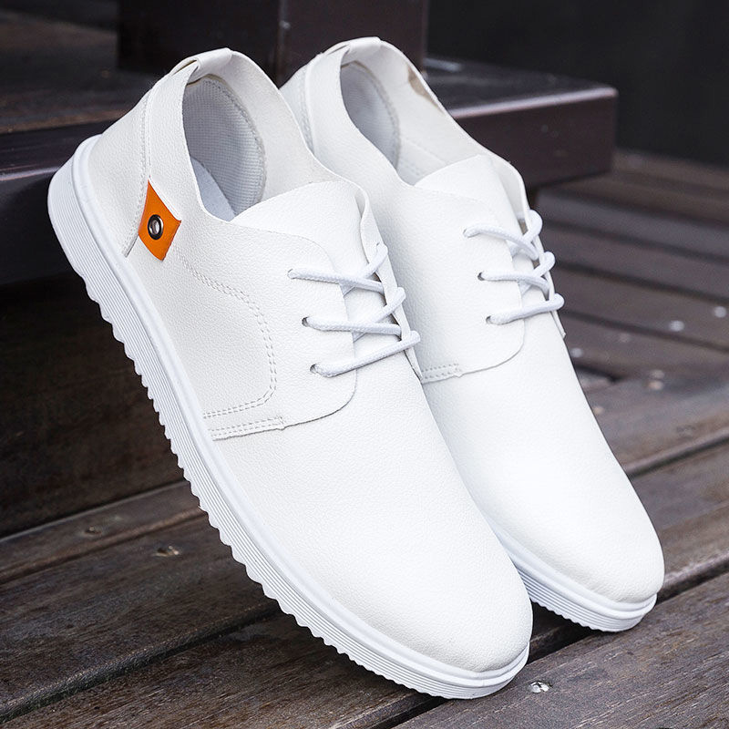 Genuine Leather Men Casual Shoes Breathable Waterproof Non-slip Men Sneakers Summer Fashion Comfortable Large Size Dress Shoes