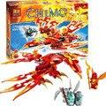 Bela Chimaed Flinx Definitiva de Phoenix Building Block Set figuras KidsToy Compatible con lepin Voom Voom 70221