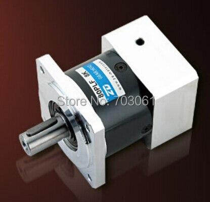 Rapport de boîte de vitesses planétaire de boîte de vitesse de moteur électrique de 80mm 15:1 adapté aux boîtes de vitesses de moteur pas à pas et servo de taille de 80mm envoyer aux etats-unis