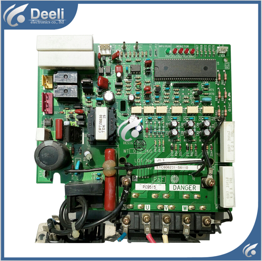 95% new used Original for Daikin air conditioning board Frequency Board PC9515 circuit board original lcd 40z120a runtka720wjqz jsi 401403a almost new used disassemble