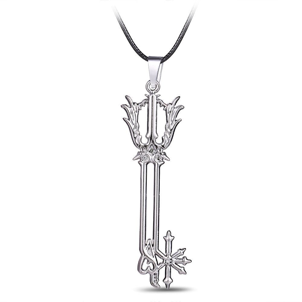 488a54d7e91e1 New Jewelry Hot Jogo Da Série Kingdom Hearts Liga Jogo Kingdom Hearts Fans  KH 5 Jóias Da Moda Magic Wand Pingente