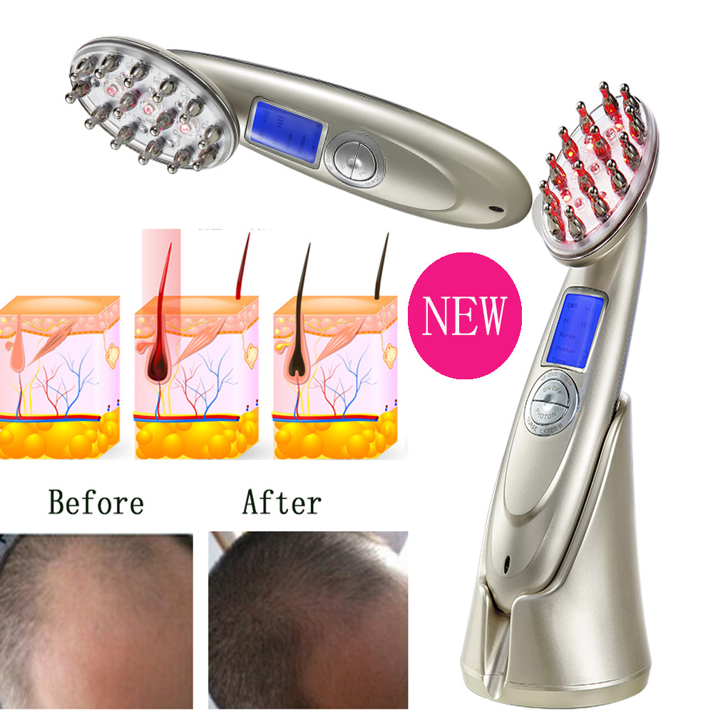 USB Charging Electric Manufacturers wholesale laser hair care comb massage LASER import and export anti-hair loss laser combUSB Charging Electric Manufacturers wholesale laser hair care comb massage LASER import and export anti-hair loss laser comb