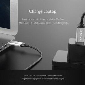 Image 3 - ORICO USB 3.1 Type C à Type c Câble 10 gbps 5A Charge Rapide type c Câble pour Téléphone Portable Macbook Matebook Ordinateur Portable