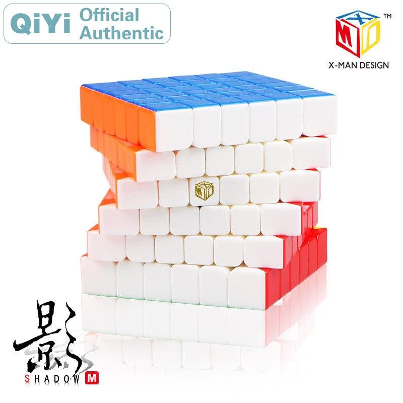 QiYi XMD Shadow M magnétique 6x6x6 Cube magique 6x6 Cubo Magico professionnel vitesse Cube Puzzle Antistress Fidget jouets pour enfants