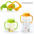 1 pc baby bottle lidar com tudo adequado para grande-caliber garrafa grande calibre Mamadeiras alimentação copo copo alimentação-alça garrafa