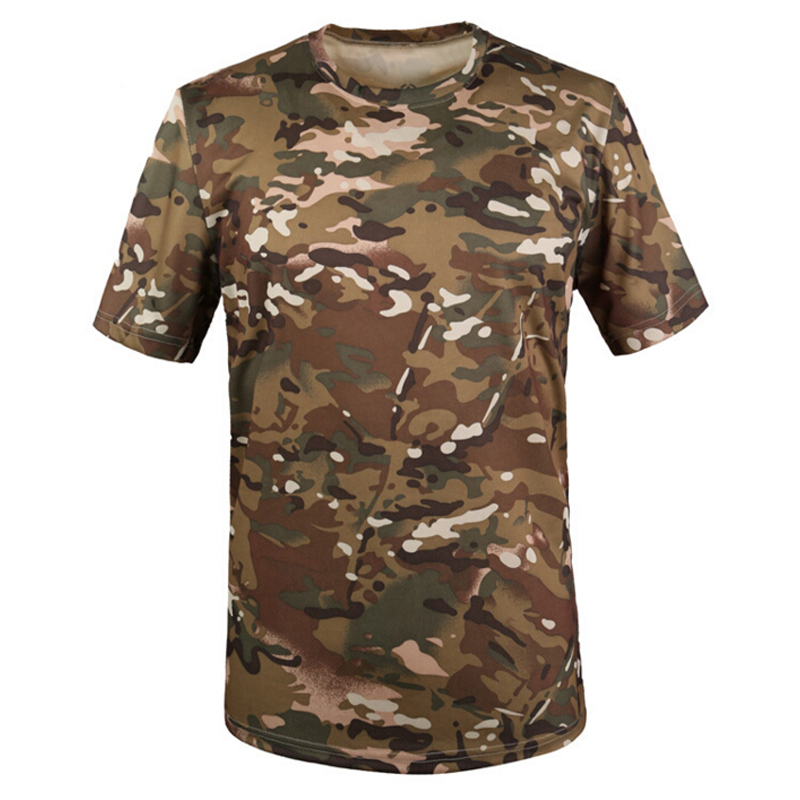 camouflage breathable t shirt army outdoortactical military t shirt. Black Bedroom Furniture Sets. Home Design Ideas