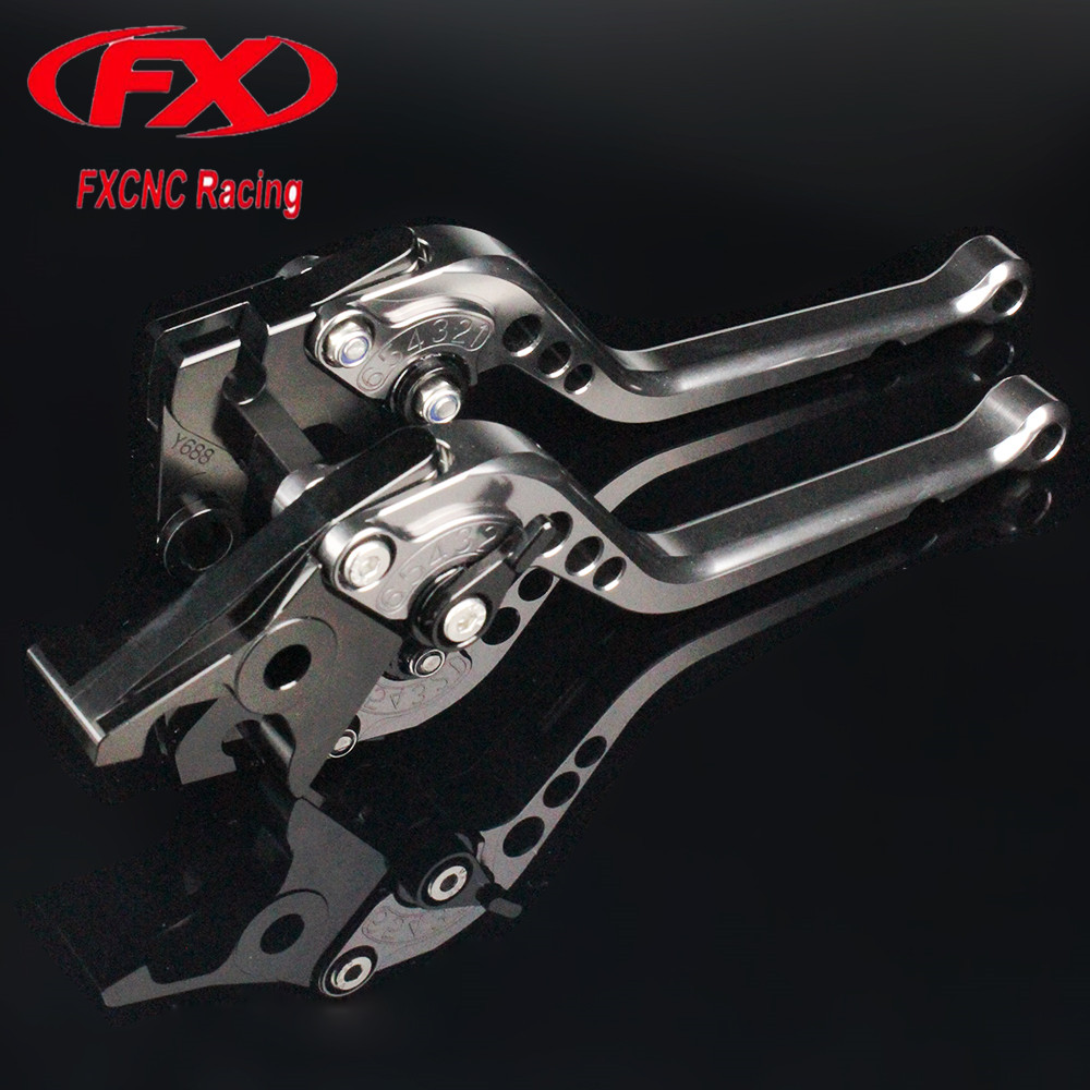 FX CNC Adjustable Racing Motorcycle Brake Clutch Levers For TRIUMPH TIGER 800 XC XCX XR XRX 2015 - 2018 Motorcycles Accessories for triumph tiger 800 xc xrx tiger 1050 1200 new motorcycle adjustable handlebar riser bar clamp extend adapter