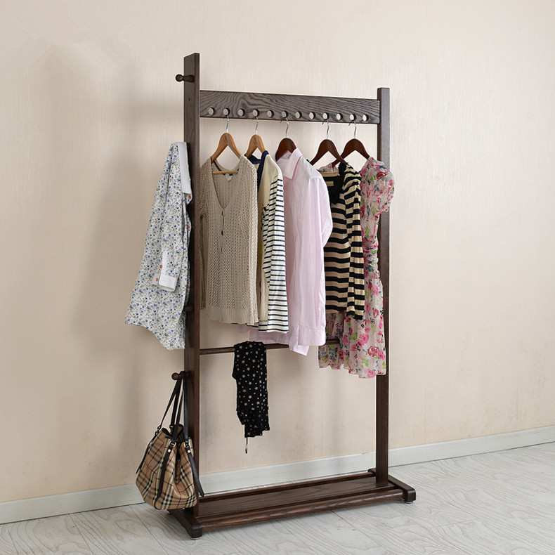 modern wooden coat hanger rack oakbeech wood 95x175cm living room furniture portable bedroom hat - Portable Clothes Rack