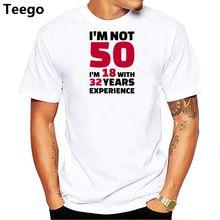 Nuevo diseño de los primeros 50 años de la infancia de los hombres T Camisa  de 3fc0b335e1a