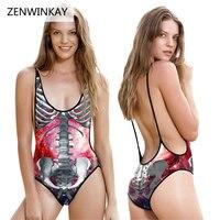Female Backless Swimwear One Piece Bathing Suit Women Swim Wear 2017 Summer Beach Wear Sexy Swimsuit for Ladies Swim Wear