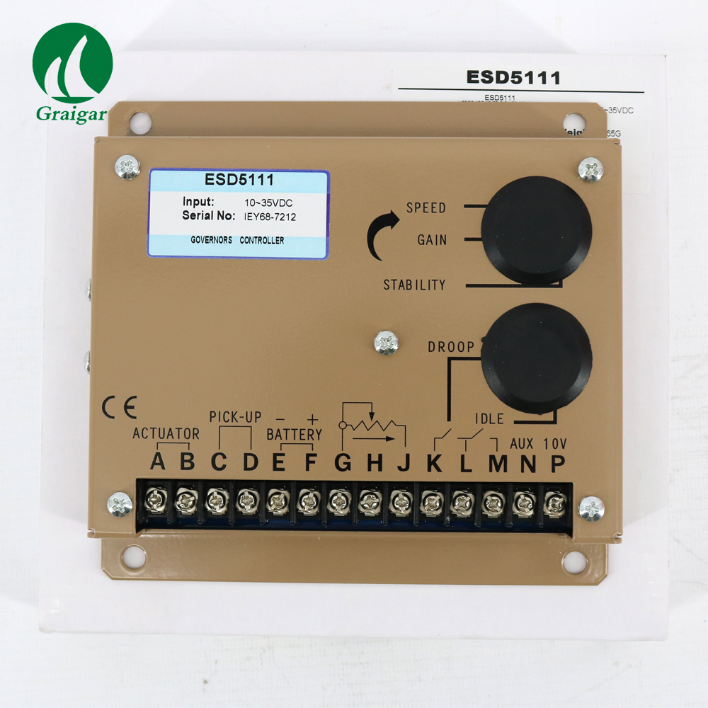 Engine Governor Speed Controller ESD5111 For Diesel Alternator Generator Parts