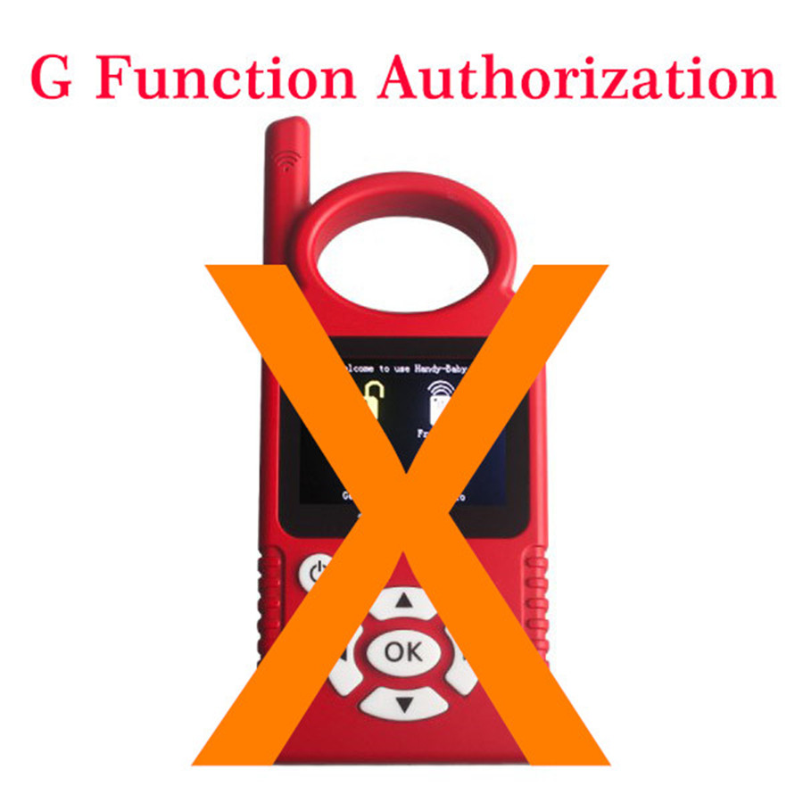 G Chip Copy Function Authorization for JMD Handy Baby Key Programmer 45