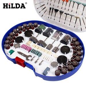 Image 3 - Hilda 276 Stuks Rotary Tool Bits Set Voor Dremel Rotary Tool Accessoires Voor Slijpen Polijsten Snijden Schurende Gereedschap Kits
