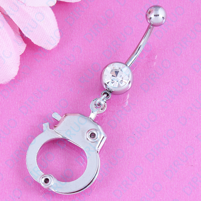 1PC Sale Handcuffs Crystal...