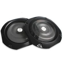 Housse de Protection pour haut parleur 4 pouces 8 pouces pour haut parleur, Grille de Tweeter, haut parleur en maille de fer, anneau décoratif