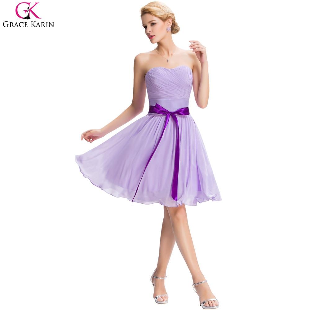 Increíble Vestidos De Dama Púrpura Sin Tirantes Foto - Ideas de ...