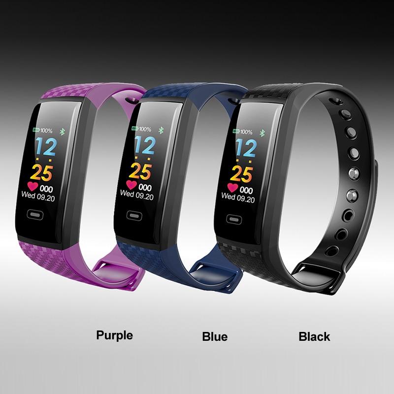 Ny Smart Watch Bluetooth og Message Reminder sportsklip Fitness - Mænds ure - Foto 4