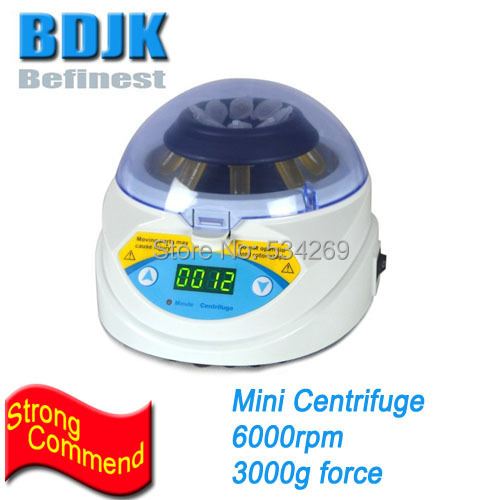 MINI-6K Mini Centrifuge 6000rpm 3000g Centrifuged Force Digital Micro Palm Lab Centrifugal for Medical & Laboratory 80 1 electric experimental centrifuge medical lab centrifuge laboratory lab supplies medical practice 4000 rpm 20 ml x 6