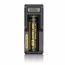 Nitecore um10 Smart Батарея Зарядное устройство ЖК-дисплей Дисплей Универсальный USB Мощность для литий-ионных IMR Батарея путешествия Адаптеры питания