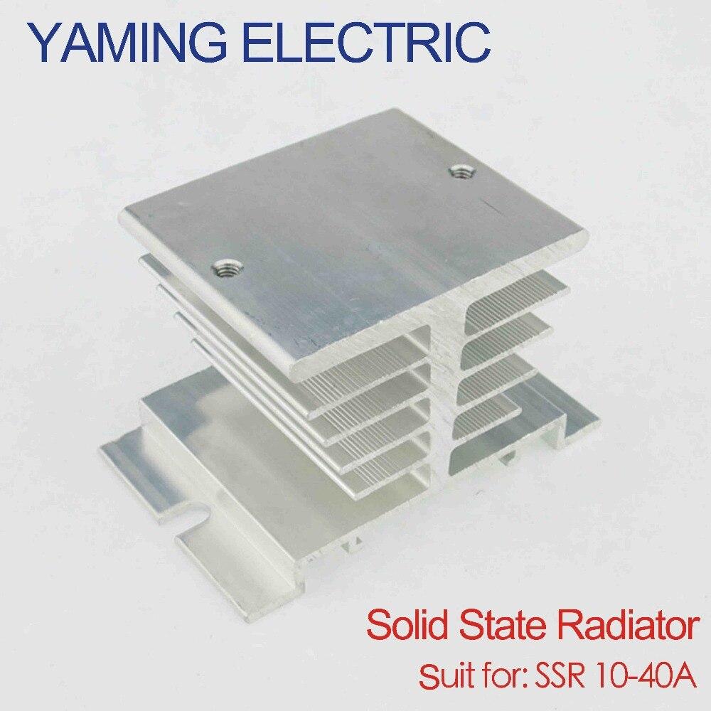 10PCS Aluminio Disipador de calor para el Relé de estado sólido SSR tipo pequeño disipación del calor