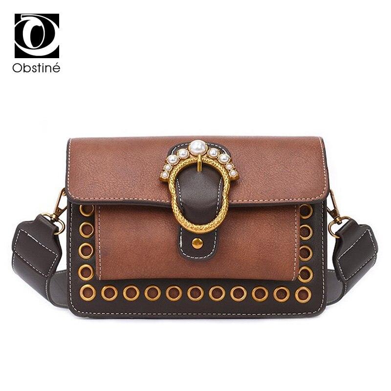 High Quality PU Leather Womens Shoulder Bag Fashion Elegant Messenger Bags For Women Crossbody Bags Strap Shoulder Bags Ladies