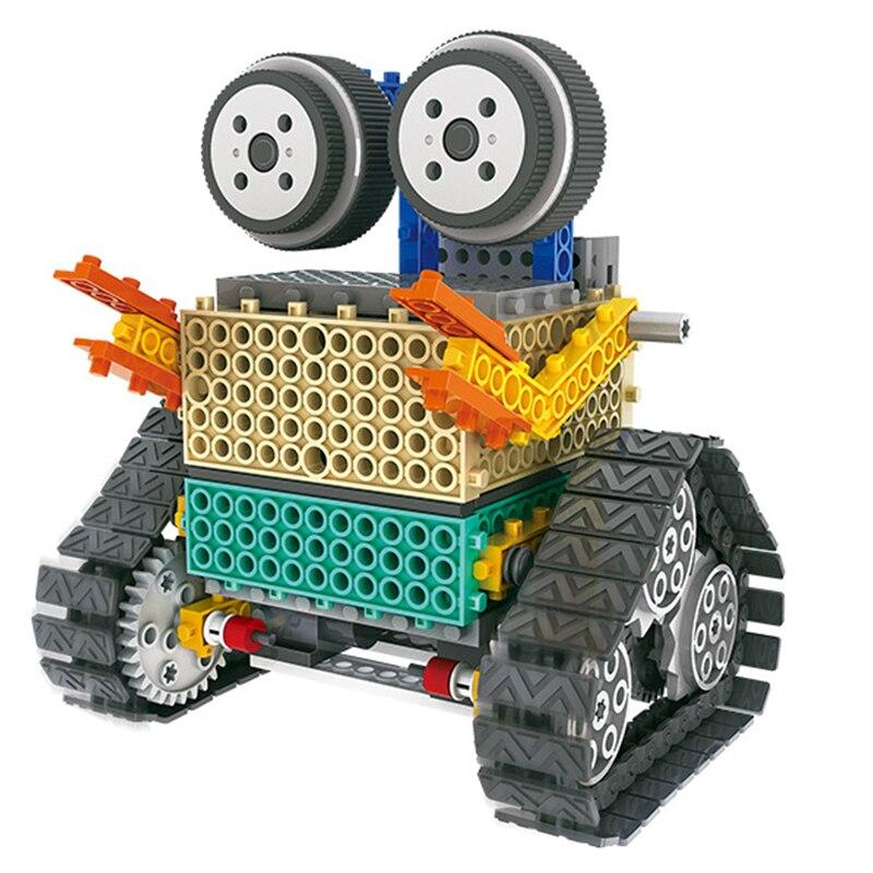 Tige bricolage Mars Robot bloc de construction électronique Science éducative jouets Kit apprentissage éducation jouets pour enfants cadeau - 3
