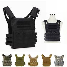 цена на Tactical JPC Plate Carrier Molle Vest Airsoft Gear Military Army Combat Body Armor Hunting Vest Protective Vest with Mag pouch