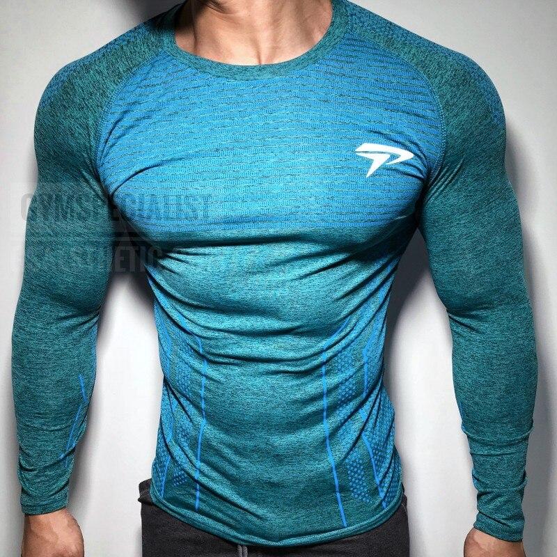 Mens Compression Shirts 3D Teen Wolf Jerseys Long Sleeve T Shirt Fitness Men Lycra MMA T-Shirts Tights Brand Clothing
