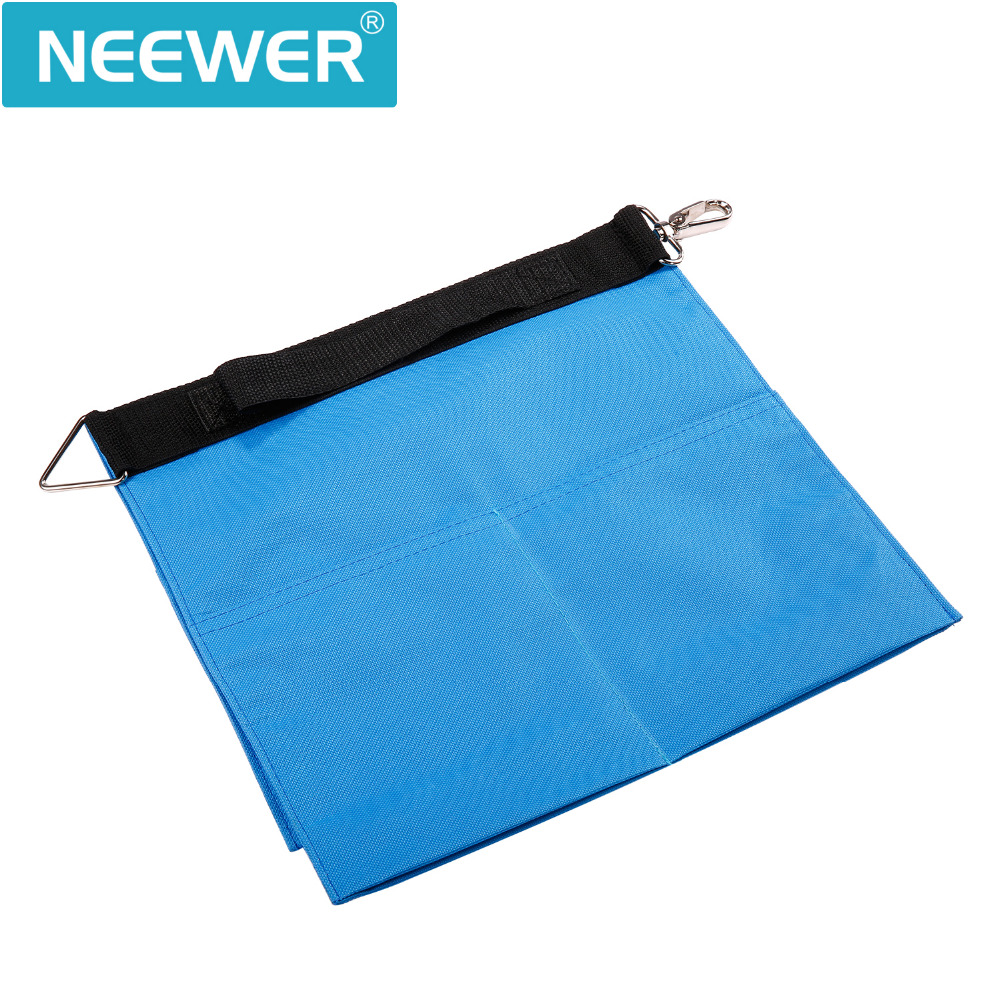 Neewer 2 Pack SP-WCM Photo Video Studio Softbox Photo Holding Panel Boom Arm Bar Water Bag with 4 Outer Pouches (Blue)