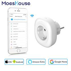 2018 Новый мини Wi-Fi умная розетка ЕС Мощность подключить мобильное приложение Дистанционное управление USB Выход работает с Amazon Alexa Google дома