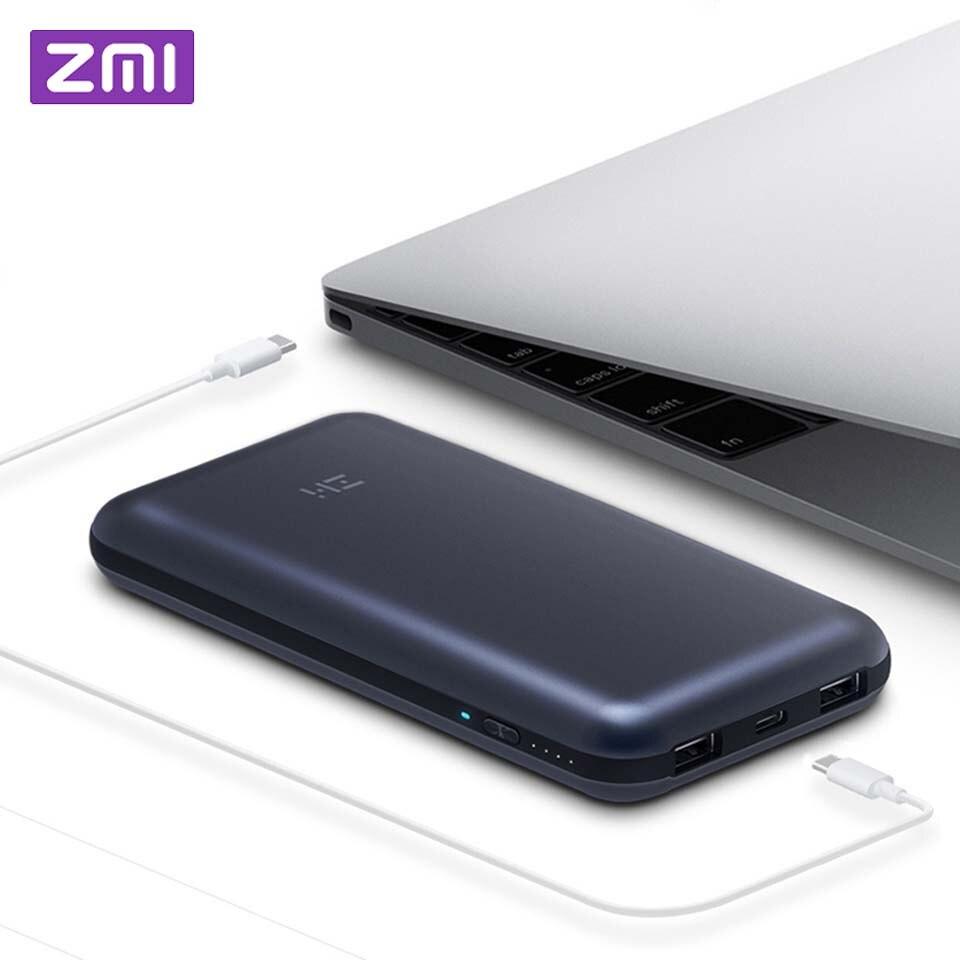 Xiaomi ZMI batterie externe 20000 mah batterie externe portable chargeur rapide moyeu QC 3.0 Charge Pack banque d'alimentation de chargeur pour ordinateur portable