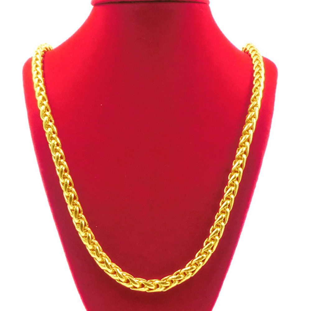 jewellers yellow baker necklace gold byzantine h second t hand family chain flat owned pre