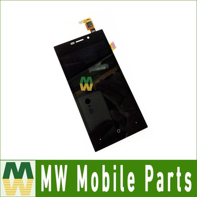 1 Pc/lote Alta Qualidade de Cor Preta Para Highscreen Zera F (rev. S) Display LCD + Touch Screen digitador Assembléia