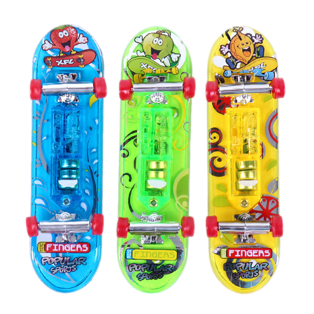 2XMini Skateboard Toys Finger Board Boy Kids Children Gift finger board Tech Boys Games Adult Items Children Toy