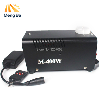 Mini 400W Wireless Remote control fog machine pump dj disco smoke machine for party wedding Christmas stage fogger