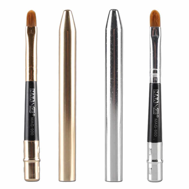 Kuas Makeup Colorwomen Portable Hot Makeup Bubuk Foundation Eyeshadow Eyeliner Bibir Sikat Alat Je20 Drop Pengiriman