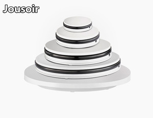 15cm 35cm 60cm Control remoto de 360 grados Dirección de velocidad giratoria eléctrica torniquete 3D Scan fotografía soporte de pantalla X CD05