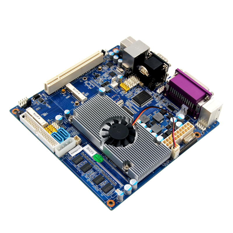 все цены на  Industrial Embedded Motherboard Based on Atom N450 cpu with atx power adapter/CF slot 6*COM LVDS  онлайн